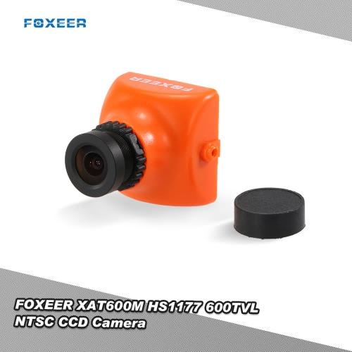 オリジナルFOXEER XAT600M HS1177 600TVL NTSC方式のCCDカメラIRは、FPVマルチコプターZMR180 QAV210 250ミニレーシングドローンクワッドローターのための2.8ミリメートルレンズをブロックします