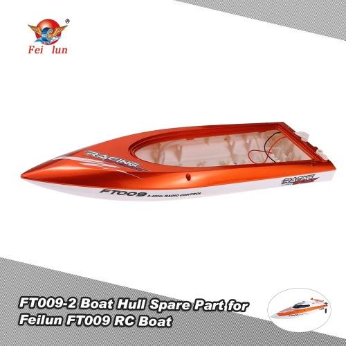 Feilun FT009 RCボート用のパイプボートのスペアパーツの冷却とオリジナルFT009ボートハル