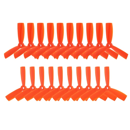 10 pairs 4045 3-Blade CW CCW Bullnose Propeller for 210 180 Walkera F210 FPV Racing Quadcopter