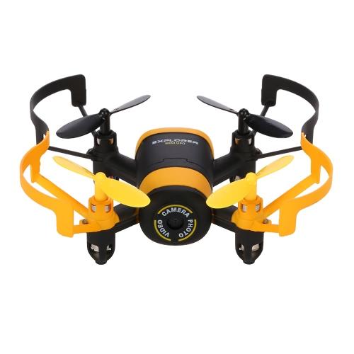 JXD 512 W Wifi FPV 0.3MP Drgania aparatu 2.4G Czterokazowatość 4-kanałowa 6-osiowa Quadcopter Czujnik G Selfie RTF