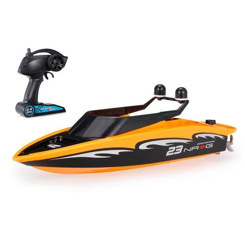 オリジナルのおもちゃを作成するSea Wing Star 3323 2.4GHzミニラジオコントロール電気式ボートRTR