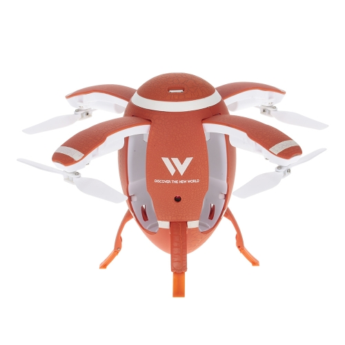 Attop W5 Flying Egg Drone WIFI FPV Foldable RC Quadcopter with 0.3M Camera Altitude Hold
