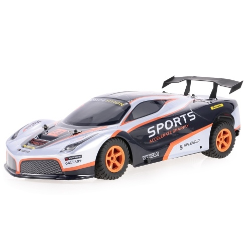 Original WLtoys L209 2.4GHz 2WD 1/10 35KM / H cepillado eléctrico RTR Flat Sports Vehicle RC coche