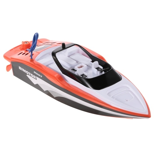 Create Toys 3392M Portable Micro RC Racing Boat Remote Control Speedboat Boy Gift Kid Toy Image