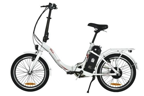 VECOCRAFT Nemesis 20-дюймовый складной электрический велосипед 7,8 Ач