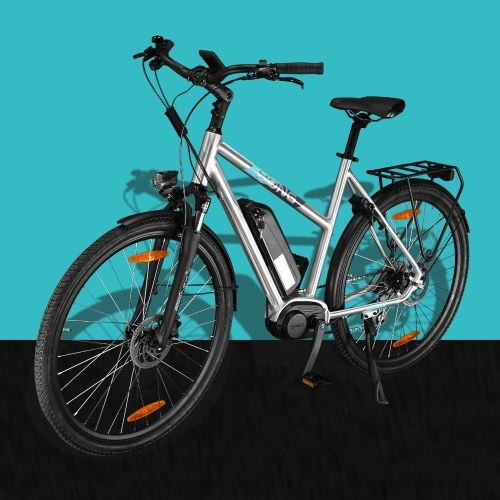HONG CD02 27.5 Inch Electric Bike with 8 Speed Shifter For Women Image