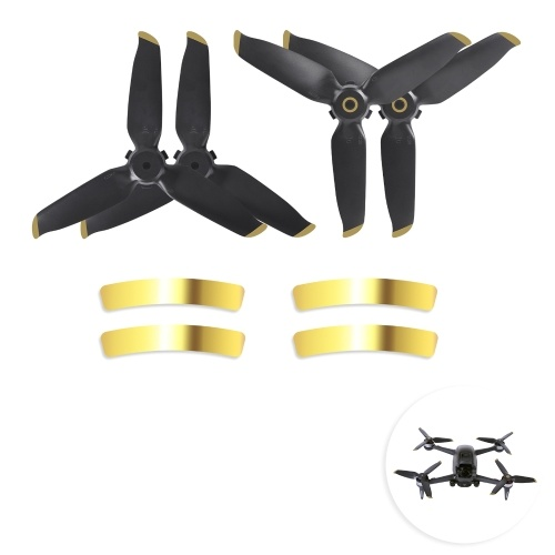 2 Pairs Low Noise 5328S Propellers Spare Blades Replacement for DJI FPV Drone Propeller