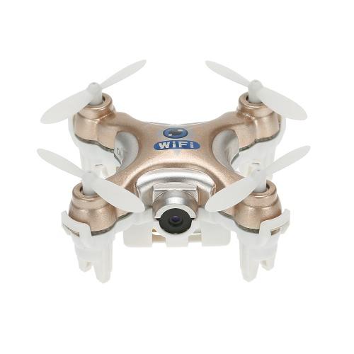 Oryginalny Cheerson CX-10W 4CH 6-Axis Gyro Wifi FPV RTF Mini RC Quadcopter z 0.3MP aparat fotograficzny