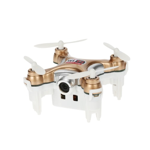 Cheerson CX-10WD-TX 2.4GHz 4CH a 6 assi Wifi FPV 3D Eversion Mini Drone