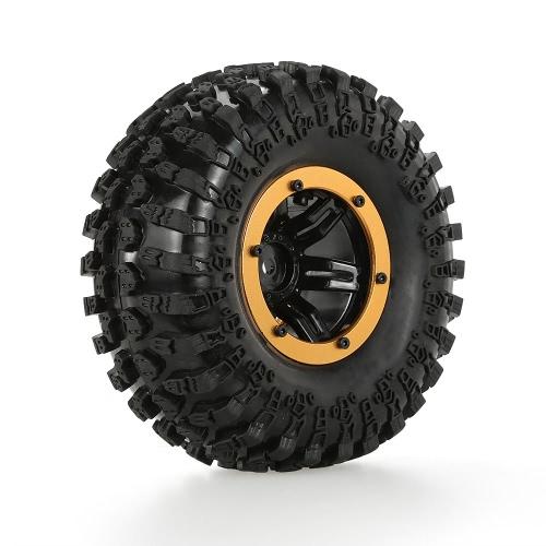 Rimorchio e pneumatico pneumatico pneumatico pneumatico pneumatico pneumatico Austar AX-3021RD per 1/10 RC4WD D90 Axial SCX10 camion cingolato
