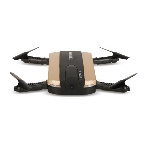 Oryginalny JXD 523 Wifi FPV 0.3MP Kamera Wysokość Trzymaj Składany Mini Selfie RC Drone Quadcopter