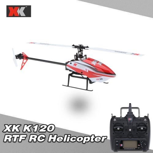 Original XK K120 Shuttle 6CH Brushless 3D/6G System RTF RC Helicopter