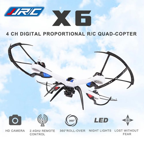 JJRC H16-5D X6 Professional Version 2.4G 4CH Digital 6-Axis Gyro RC Quadcopter RTF Drone with Hyper IOC function and Wide Angle 5.0MP Camera