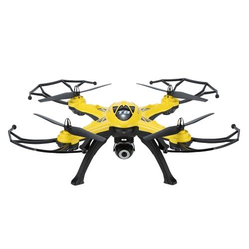 Original GoolRC T8C 2.4GHz 4CH 6 axes Gyro 2.0MP Caméra HD RC Quadcopter avec une touche Retour CF Mode 360 ° Eversion Fonction