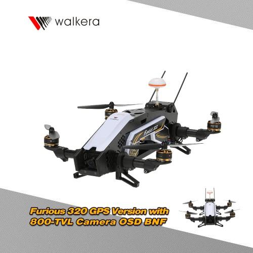 Original Walkera Furious 320 GPS Version FPV Racing Drone BNF RC Quadcopter with OSD 800TVL Camera