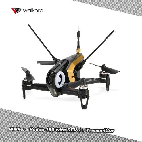 オリジナルのWalkeraロデオ600TVLカメラDEVO 7トランスミッター150 5.8G FPVレーシングドローンRTFバージョン