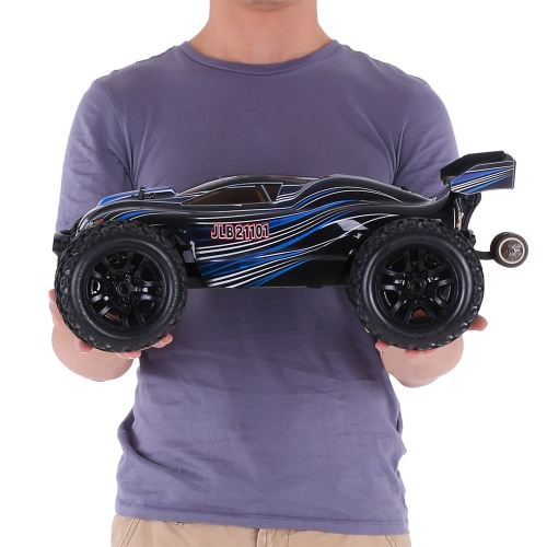 Original-JLB Racing 21101 10.01 2.4G 4WD Elektro Brushless 80km / h High Speed ​​Off-Road Truggy Monster Truck RTR RC Car