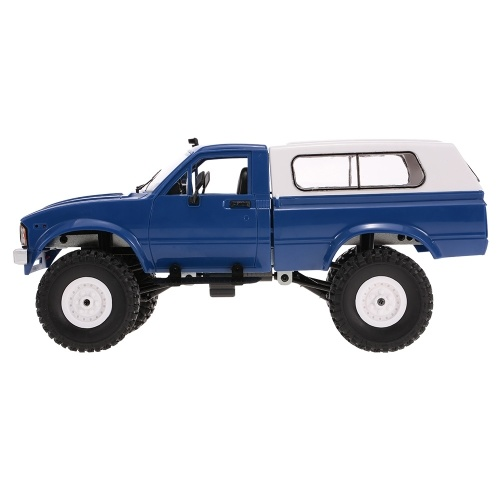 WPL C-24 2.4G 4WD 1:16 Off Road Rastreador Rock com frente LED RC Car RTR
