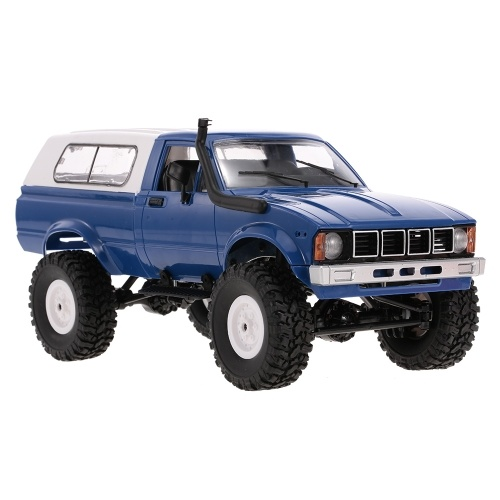 WPL C-24 2.4G 4WD 1:16 Off Road Rock Crawler with Front LED RC Car RTR