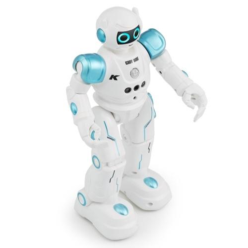 JJR / C R11 CADY WIKE Intelligente Roboterfernbedienung Programmierbarer Gestensensor Musik Tanz RC Spielzeug für Kinder Weihnachtsgeschenk