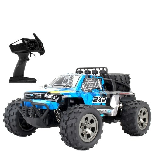 KY-1886B 2.4GHz 1/18 2WD Big Wheel RC Car Off-Road Buggy Pickup Truck