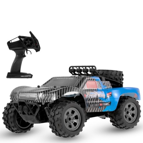 KYA KY-1885B 2.4GHz 1/18 2WD Big Wheel RC Car Off-Road King Short Truck