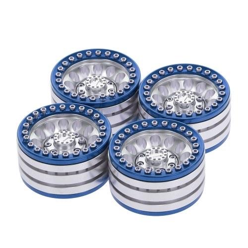 4pcs 1,9 pulgadas de eje de rueda de metal