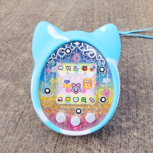 Protective Cover Shell Silicone Case Pet Game Machine Cover for Tamagochi Cartoon Electronic Pet Game Machine