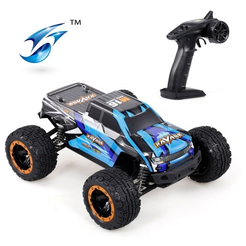 Linxtech 16889A 2.4G 4WD 1/16 30km / h Voiture RC Big Foot Car Toy