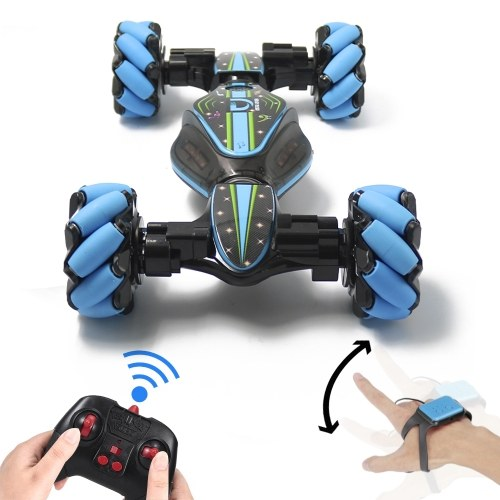 RC Car 2.4GHz 4WD RC Stunt with Gesture Sensor Watch and Controller
