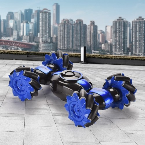 2.4G 4WD RC Stunt Car Часы Жест управления датчиком RC Деформируемый Электрический Автомобиль Вездеходный Трансформируемый Автомобиль