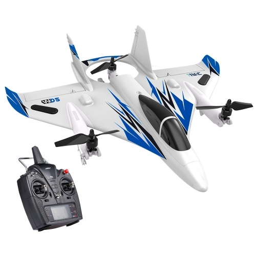 JJRC MO2 2.4G 6CH 3D/6G RC Airplane Brushless Multi-motor Vertical Takeoff Aircraft