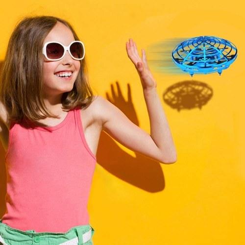 Image of Mini Drohne UFO handbetriebenen Hubschrauber Quadrocopter Drohne Infrarot Induktionsflugzeug Flying Ball Spielzeug für Kinder