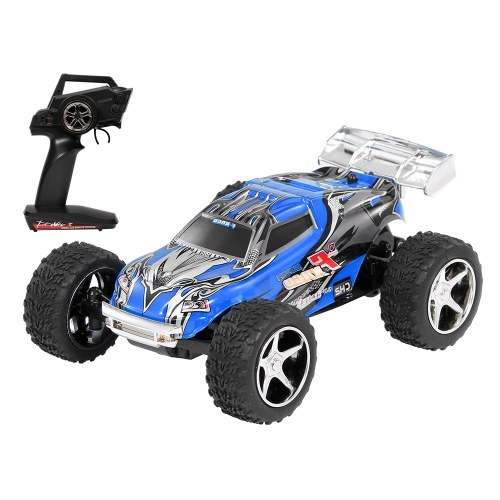 Wltoys 1/43 2.4G Big Foot RC Car 20km/h High Speed RC Trunk Gift Toys