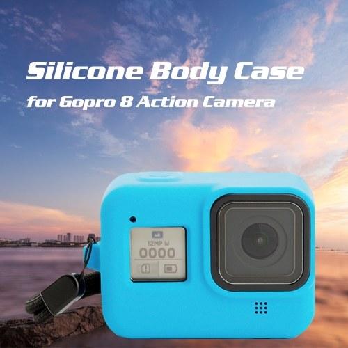 Силиконовый чехол Gopro Hero 8 Защитный полный чехол из силикагеля для Gopro 8 Аксессуары для экшн-камер