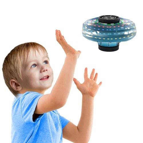 手の制御誘導360°回転飛行おもちゃ小さなUFO飛行おもちゃ