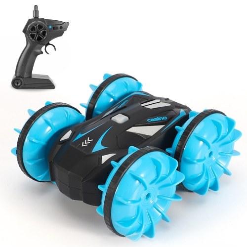 1:20 2.4GHZ RC Stunt Car 360 ° Girar RC Cars Coche RC anfibio