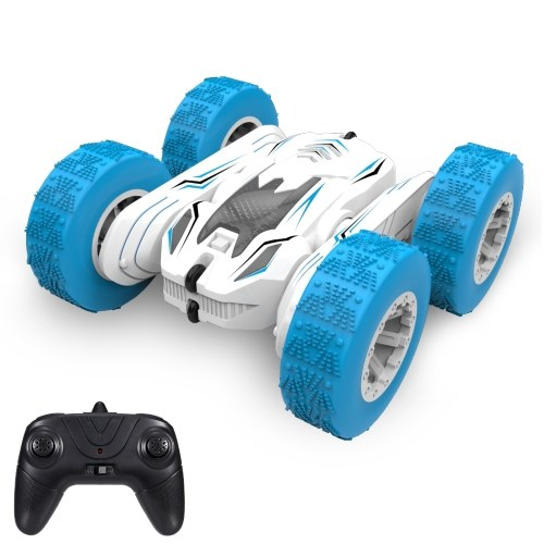 X-013A RC Stunt Car Remote Control Car Toys 2.4GHz 4WD Double Sided 360 ° Standing Rotating Off-road Light Vehicle Regalo per bambini Ragazzi Compleanno