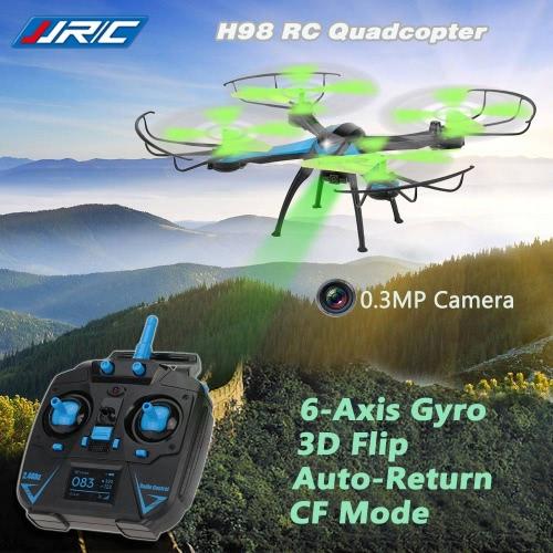 Oryginalny JJR / C H98 2.4G 4CH 6-Axis Gyro RC Quadcopter z 0.3MP kamera 3D Przerzucanie Funkcja Auto-Return Tryb CF
