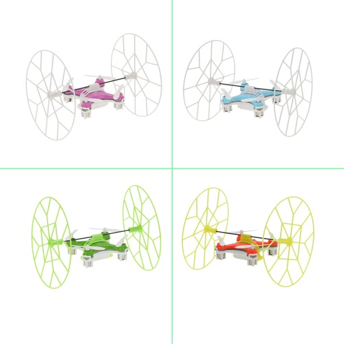 Oryginalny Chirester CX-10 2.4 G 6-osiowy Gyro RTF Mini Drone z ulepszoną częścią ochronną