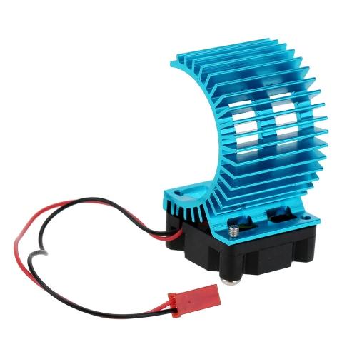 7014 motor Kühlkörper mit Lüfter für 1/10 HSP RC Auto 540/550 3650 Motor
