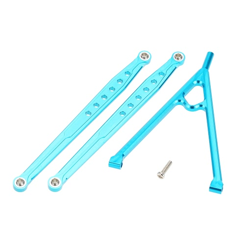 SCX10-05 Aluminum Upgrade Parts Front Chassis Linkage Y-Link Tree & Bracket Links for 1/10 AXIAL SCX10 Electric 90022 90028 90035 Rock Crawler Wrangler