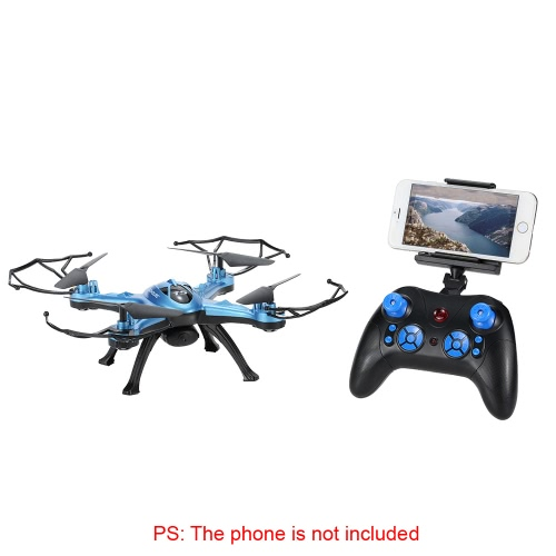 Original GoolRC T5W Wifi FPV 0.3MP Camera RC Quadcopter with One Key Return CF Mode 360° Eversion Function