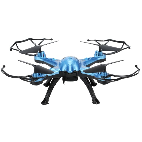GoolRC T5W Wifi FPV 0.3MP Camera RC Quadcopter with One Key Return CF Mode 360° Eversion Function