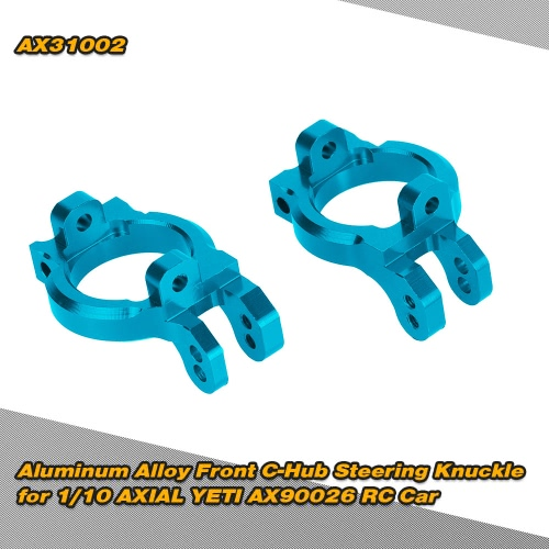 AX31002 Aluminum Alloy Front C-Hub Steering Knuckle for 1/10 AXIAL YETI AX90026 RC Car