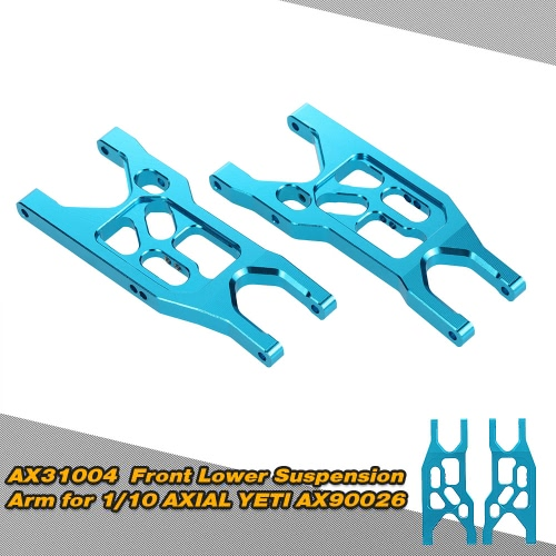 AX31004 Aluminum Front Lower Suspension Arm for 1/10 AXIAL YETI AX90026 RC Car