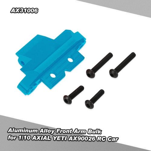 Lega di alluminio del braccio anteriore Bulk per 1/10 ASSIALE YETI AX90026