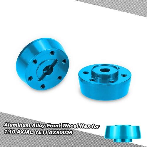 1/10 軸イエティ AX90026 のアルミ合金フロント ホイール六角