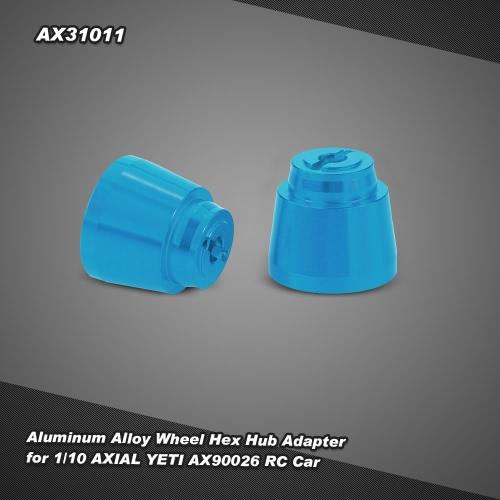 AX31011 Aluminum Alloy Rear Wheel Hex for 1/10 AXIAL YETI AX90026 RC Car