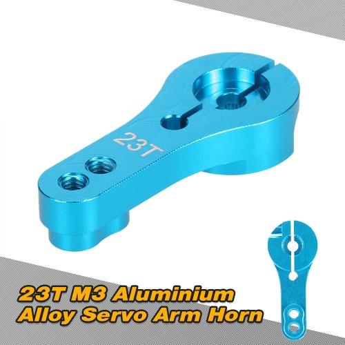 23T M3 Aluminiumlegierung Servo Arm Horn für 1/10 1/8 RC Auto